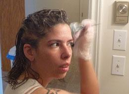 does bleach cause gray hair