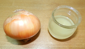 onion juice remedy for gray hair